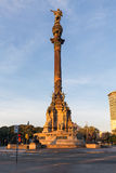 巴塞罗那哥伦布纪念碑 免版税库存图片