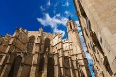 巴塞罗那大教堂西班牙 免版税图库摄影