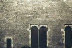 巴塞罗那大教堂,西班牙 免版税图库摄影