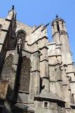巴塞罗那大教堂 免版税库存图片