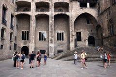 巴塞罗那市历史博物馆 库存照片