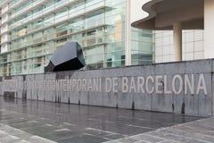 巴塞罗那当代艺术博物馆 免版税图库摄影