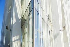 巴塞罗那摩天大楼 免版税库存图片