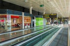 巴塞罗那机场 免版税库存照片