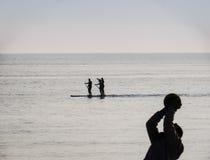 巴塞罗那海滩 图库摄影