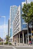 巴塞罗那现代建筑学  免版税库存照片