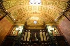 巴塞罗那的城镇厅,巴塞罗那,西班牙 免版税图库摄影