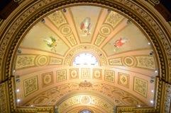 巴塞罗那的城镇厅,巴塞罗那,西班牙 免版税库存照片