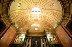 巴塞罗那的城镇厅,巴塞罗那,西班牙 库存图片