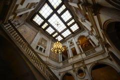 巴塞罗那的城镇厅,巴塞罗那,西班牙 库存照片