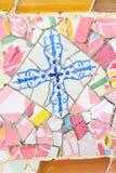 巴塞罗那装饰 免版税图库摄影