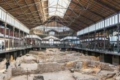 巴塞罗那西班牙 历史大厦  免版税库存图片