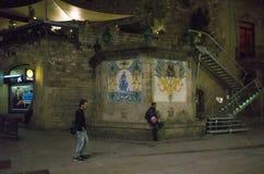 巴塞罗那西班牙 库存照片