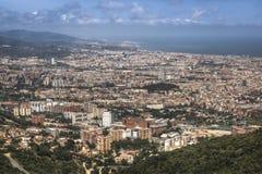 巴塞罗那视图 图库摄影