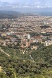 巴塞罗那视图 免版税图库摄影