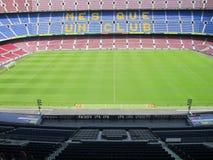 巴塞罗那足球俱乐部体育场-诺坎普 图库摄影