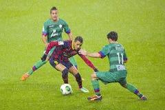 巴塞罗那足球俱乐部的亚历克西斯桑切斯 库存图片