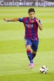 巴塞罗那足球俱乐部的雷斯苏亚雷斯 图库摄影