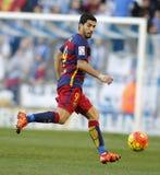 巴塞罗那足球俱乐部的雷斯苏亚雷斯 免版税库存照片