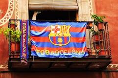 巴塞罗那足球俱乐部 库存照片