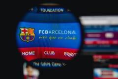 巴塞罗那足球俱乐部 库存图片