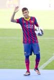 巴塞罗那足球俱乐部Neymar  库存照片