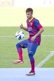 巴塞罗那足球俱乐部Neymar  图库摄影