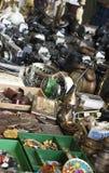 巴塞罗那跳蚤市场 免版税库存图片