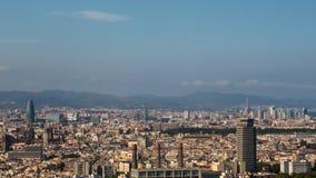 巴塞罗那都市风景 免版税图库摄影