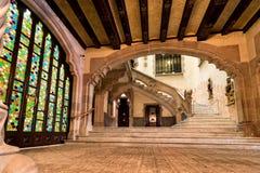 巴塞罗那,住处Amatller 免版税图库摄影