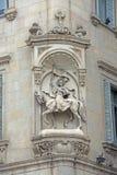从巴塞罗那,西班牙的建筑学 免版税库存图片