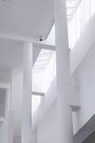 巴塞罗那,西班牙- 2016年4月18日:内部, MACBA Museo De Arte Contemporaneo,当代艺术博物馆 免版税库存图片