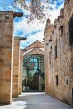 巴塞罗那,西班牙- 2016年4月17日:海海博物馆 图库摄影