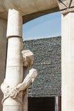 巴塞罗那,西班牙- 2016年9月10日:耶稣基督雕塑在Sagrada de familia 免版税库存图片