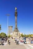 巴塞罗那,西班牙- 2015年9月17日:非法街道经销商se 免版税库存图片
