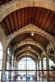 巴塞罗那,西班牙- 2016年4月17日:巴塞罗那内部海海博物馆  免版税库存照片