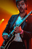 Jave Ryjlen, Idealipsticks的吉他弹奏者 库存图片