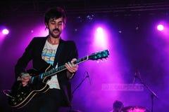 Jave Ryjlen, Idealipsticks的吉他弹奏者 免版税库存图片