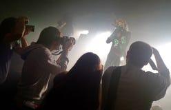 巴塞罗那活力音乐厅的邪神大敌2012年 被拍的照片:2012年10月27日, 图库摄影