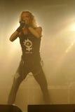 巴塞罗那活力音乐厅的邪神大敌2012年 被拍的照片:2012年10月27日, 免版税图库摄影