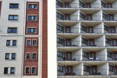 巴塞罗那& x28; Spain& x29; :大厦 库存照片