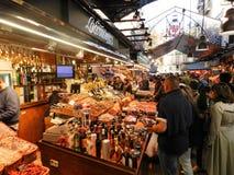 巴塞罗那boqueria市场 图库摄影
