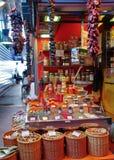 巴塞罗那boqueria la市场 免版税库存照片