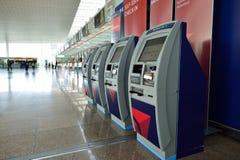 巴塞罗那El Prat机场 免版税库存图片