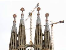 巴塞罗那familia sagrada 西班牙 免版税库存图片