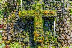 塞罗de Monserrate波哥大哥伦比亚Sanctuary  免版税库存照片