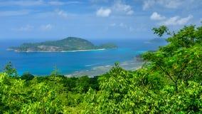 塞舌尔群岛,印度洋 免版税库存图片