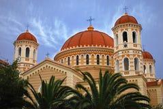 塞萨罗尼基。 大教堂 库存照片