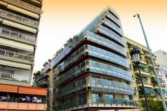 塞萨罗尼基大厦 免版税库存图片