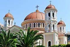 塞萨罗尼基大教堂 免版税库存图片